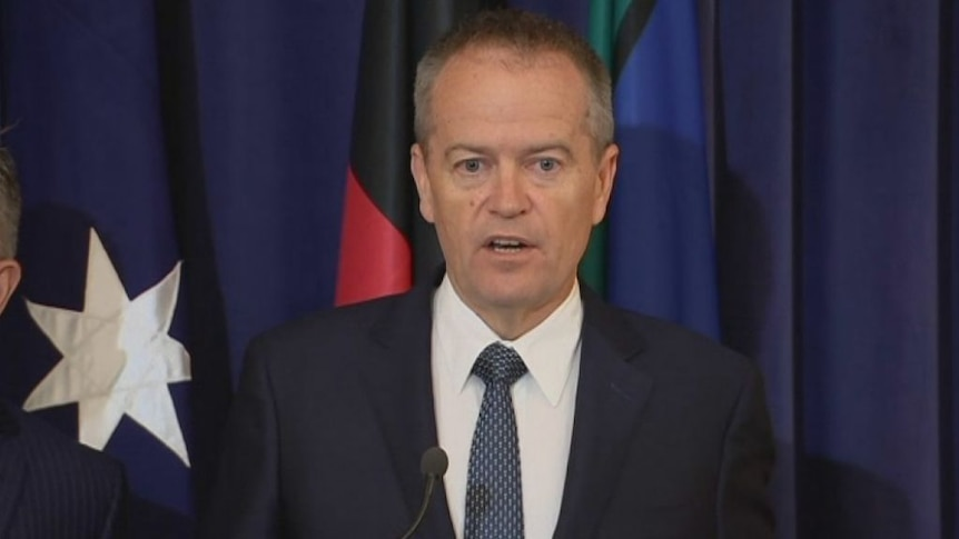 """Bill Shorten said he was """"very supportive"""" of the action against Russia."""