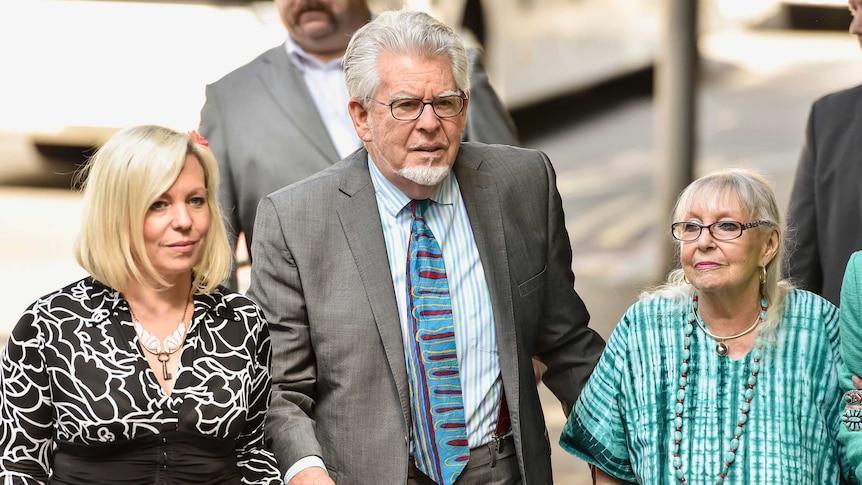 Look back on the Rolf Harris trial (Photo: AFP - Niklas Halle'n)