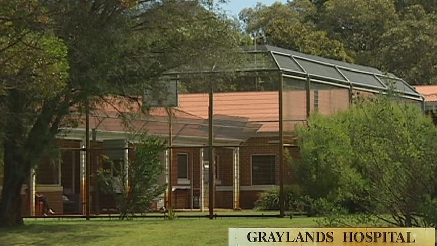 Graylands mental hospital