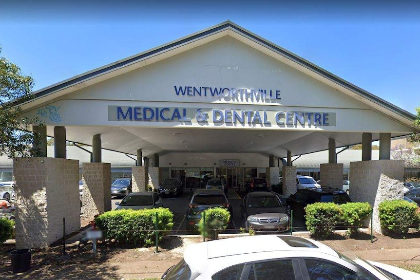 The exterior of Wentworthville Medical and Dental Centre.