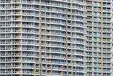 A highrise apartment block