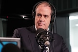 ABC Managing Director David Anderson during an interview in a studio.