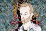 Hugo: Del Kathryn Barton's entry in the Archibald Prize 2013.