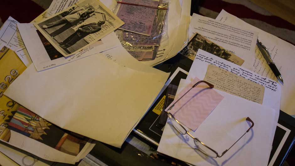 Milton 'Snow' Fairclough's letters and photos from his time as a POW.