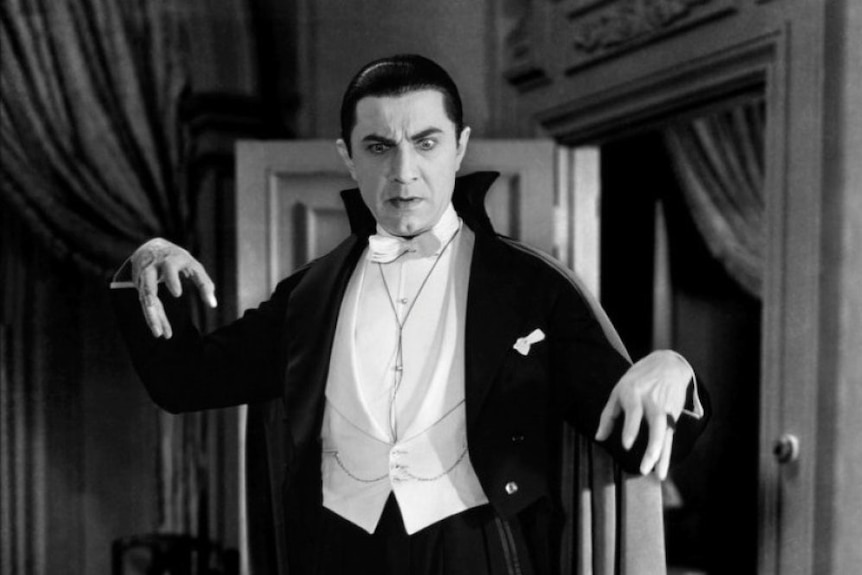 Hollywood version of Count Dracula