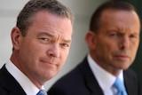 Christopher Pyne and Tony Abbott