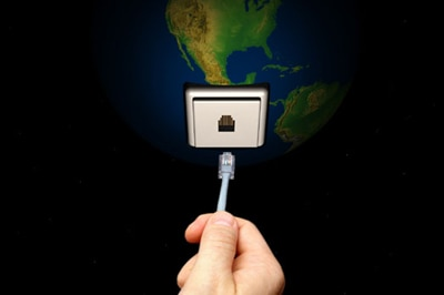 File photo: Hand Inserting a Plug into the Earth  (Getty Creative Images)
