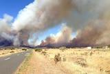 Bangor bushfire