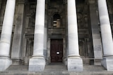A 19th century classical building with columns