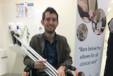 Reuben Lichter now has a 3D printed tibia.