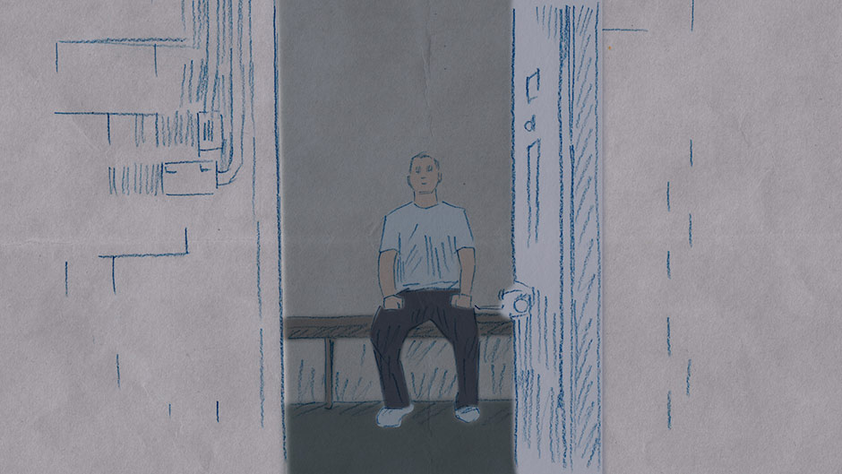 Life on the inside: solitary confinement (ABC News: Lucy Fahey)