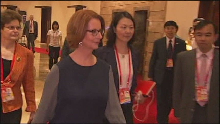 Gillard to meet with new Chinese president
