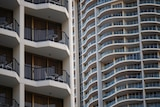 High rises and balconies on the Gold Coast