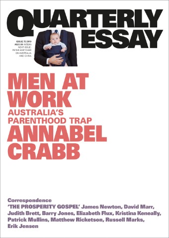 A book cover for Men At Work