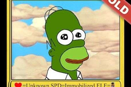 The 'Homer Pepe' Peter Kell sold for US$320,000