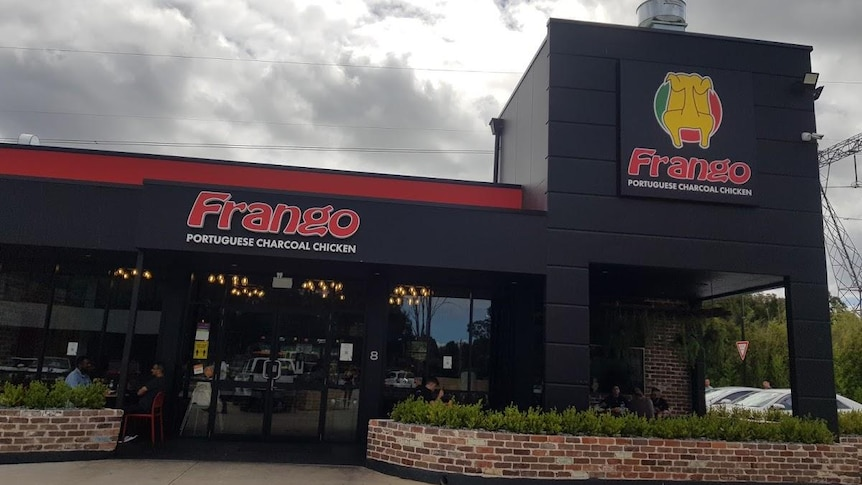 frango charcoal chicken supplied
