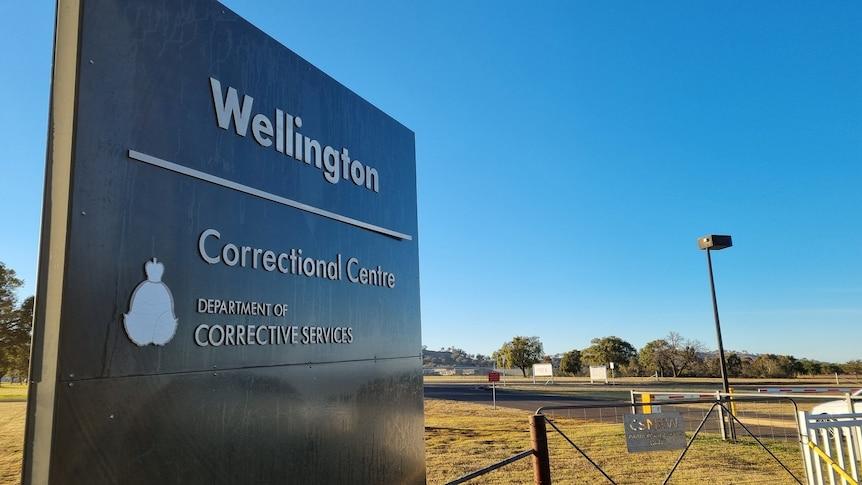 Wellington Correctional Centre sign