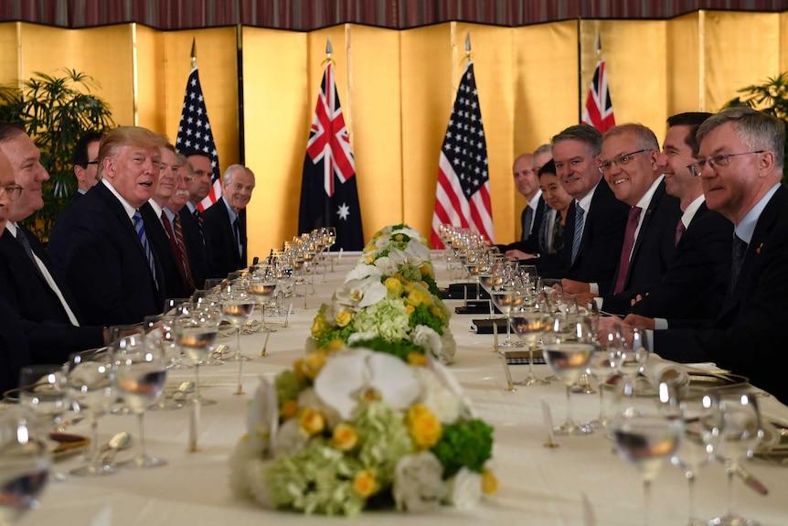 最近一届澳大利亚领导人继承了与美国良好的双边关系。