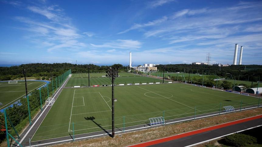 东京2020奥运会火炬传递将从J-Village足球场开始。