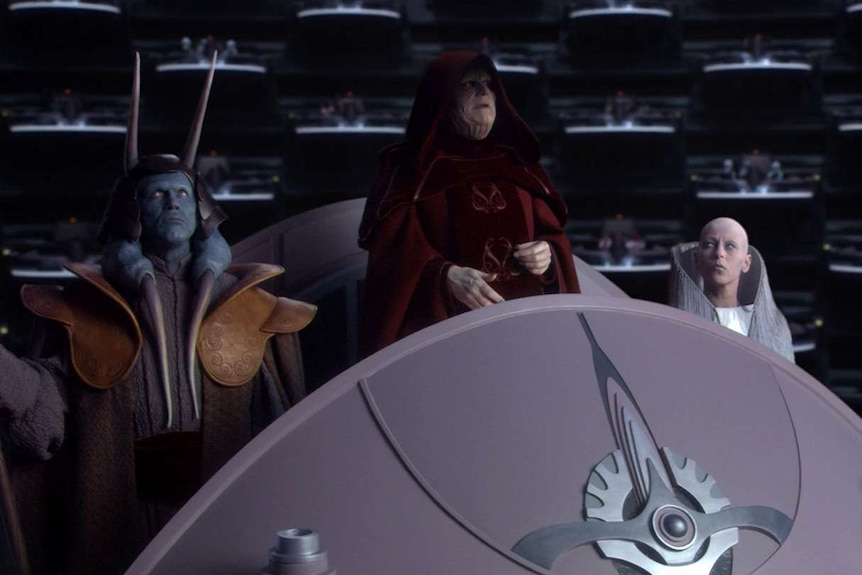 A still image from Star Wars Episode III: Revenge of the Sith