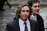 Steve Coogan arrives at hacking inquiry