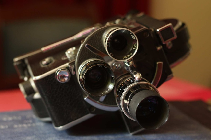 An older style camera.