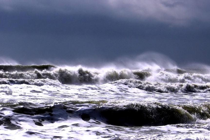 Waves during storm