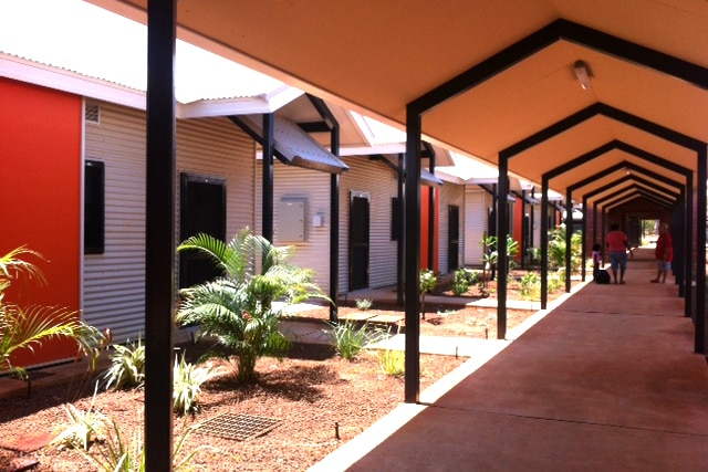 The Aboriginal short stay accommodation building in Derby