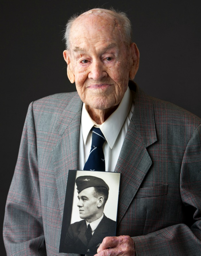 Veteran Paul Royle was one of the members of the Great Escape from a German camp in WWII.