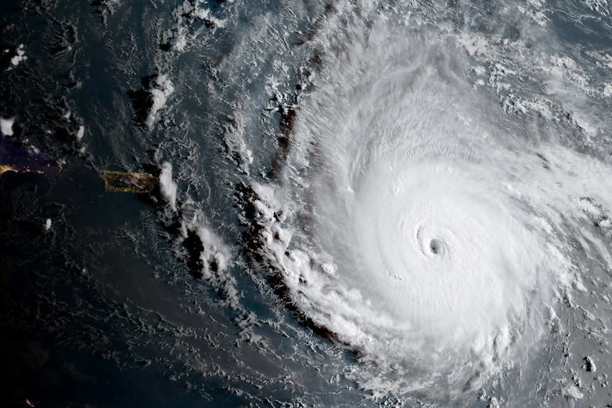 Image of Hurricane Irma from the National Weather Service