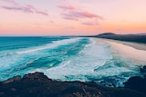 Cabarita Headland in northern New South Wales