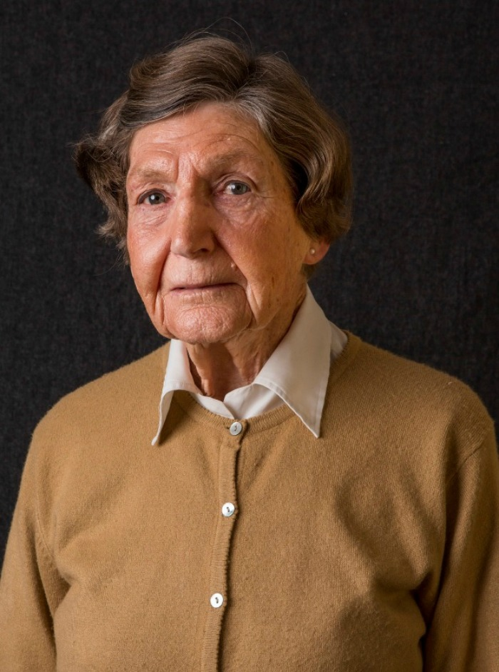 Gwen Kent took part in the Reflections project documenting past Australia military people.