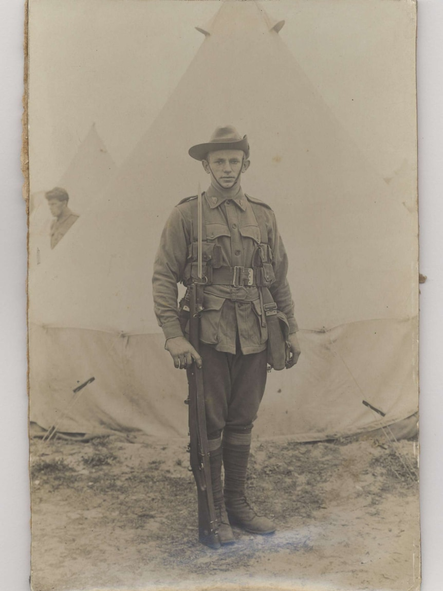 Private Henry Miller Lanser sailed to Egypt with the First Australian Infantry Battalion in October 1914 and was killed in France in 1916.
