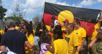 Indigenous protesters caused the Queen's Baton relay to be delayed.
