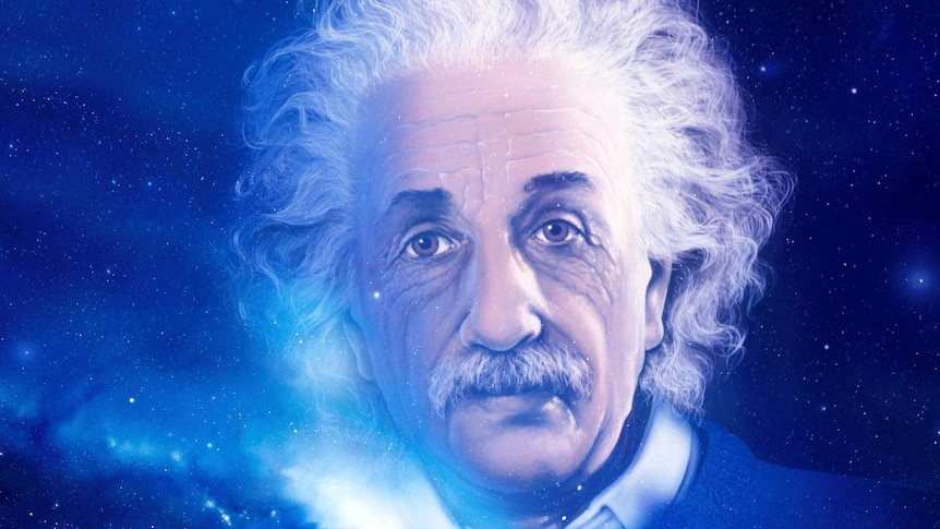 The spirit of Albert Einstein in the universe