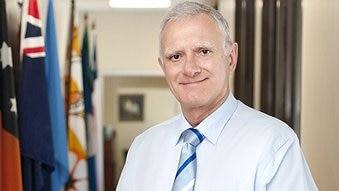 Dr Len Notaras takes helm of NT Health Department