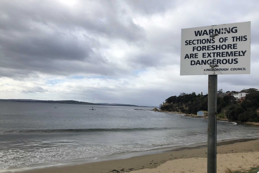 A person drowned at Blackmans Bay in Hobart.