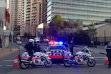 Police operation at Parramatta police headquarters