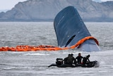 Divers search for sunken ferry