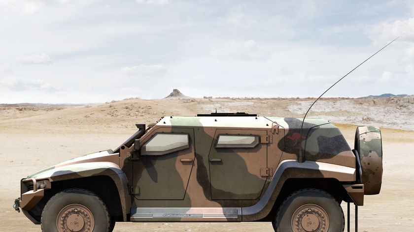 Hawkei Protected Mobility Vehicle
