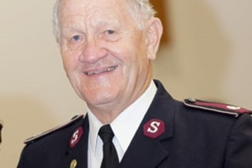 Former NSW fire brigade chaplain Don Woodland had the only mobile phone used to coordinate the rescue operation.