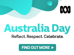 The words Australia Day; Reflect. Respect. Celebrate. on a white background.