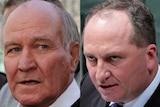Tony Windsor and Barnaby Joyce.