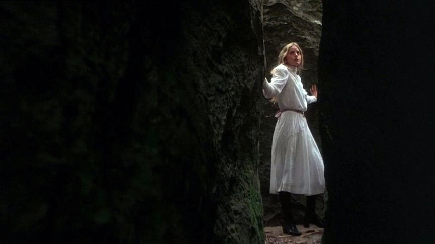 Anne Lambert played Miranda in Picnic at Hanging Rock
