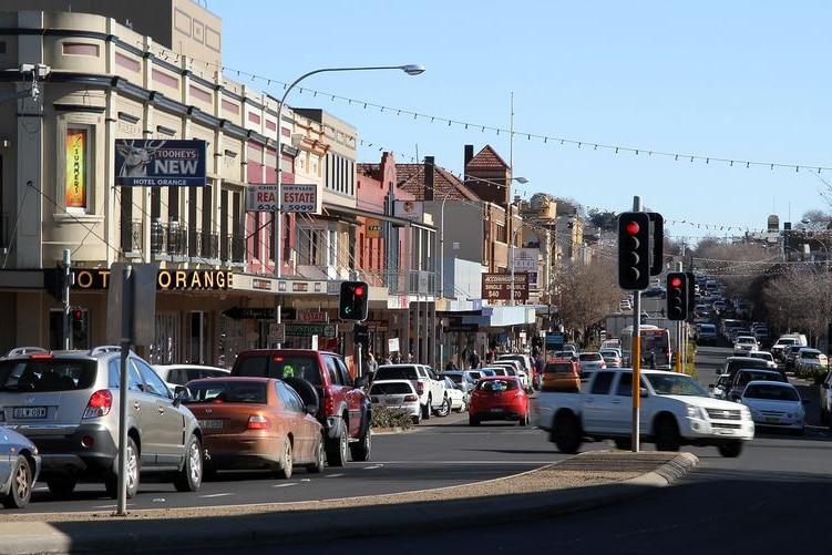 City of orange in NSW