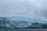 A glacier on Heard Island