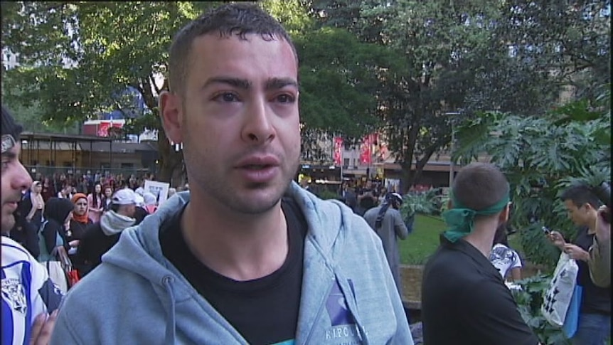 Hyde Park protesters speak out