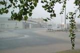 Flash flooding in Rutherglen.