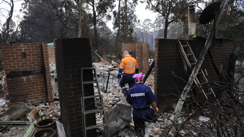 Identifying all the victims of the bushfires could take months.