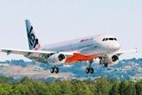 A Jetstar Pacific plane